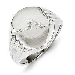 Signet Ring in 925 Sterling Silver