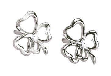 Lucky Clover Earrings in 925 Sterling Silver