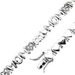 Mothers Bracelet in 925 Sterling Silver